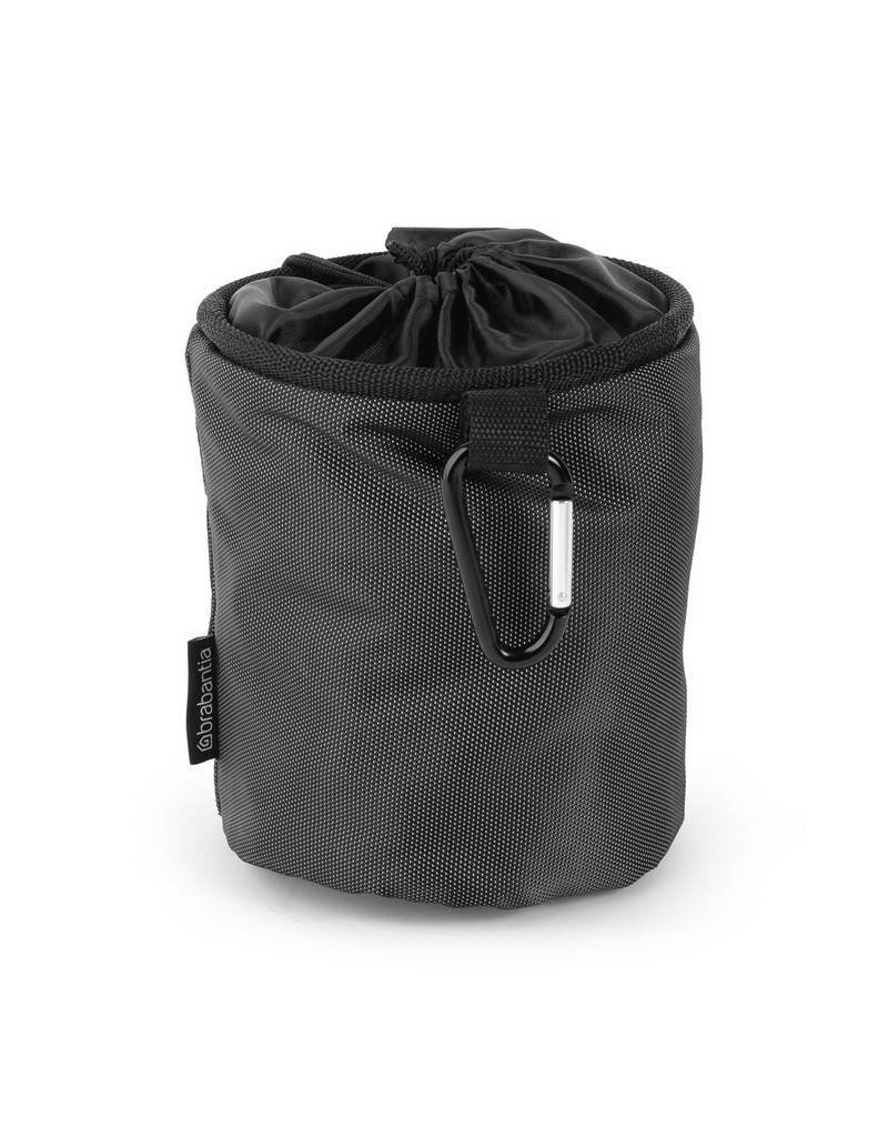 Brabantia BRABANTIA CLOTHES PEG BAG PREMIUM BLACK
