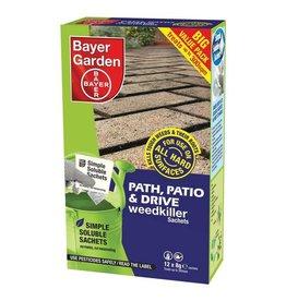 Bayer Garden BAYER GARDEN PATH, PATIO & DRIVE WEEDKILLER SACHETS 12