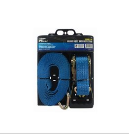 PRO USER 2PCE 50MM x 8M RATCHET TIE DOWN SET