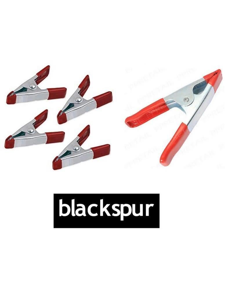 Blackspur BLACKSPUR 5PCE METAL SPRING CLAMP SET