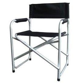 Redwood Aluminium Folding Directors Chair Black