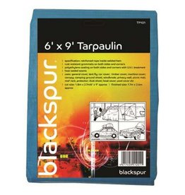 Blackspur BLACKSPUR 6' (FOOT) * 9' (FOOT) TARPAULIN