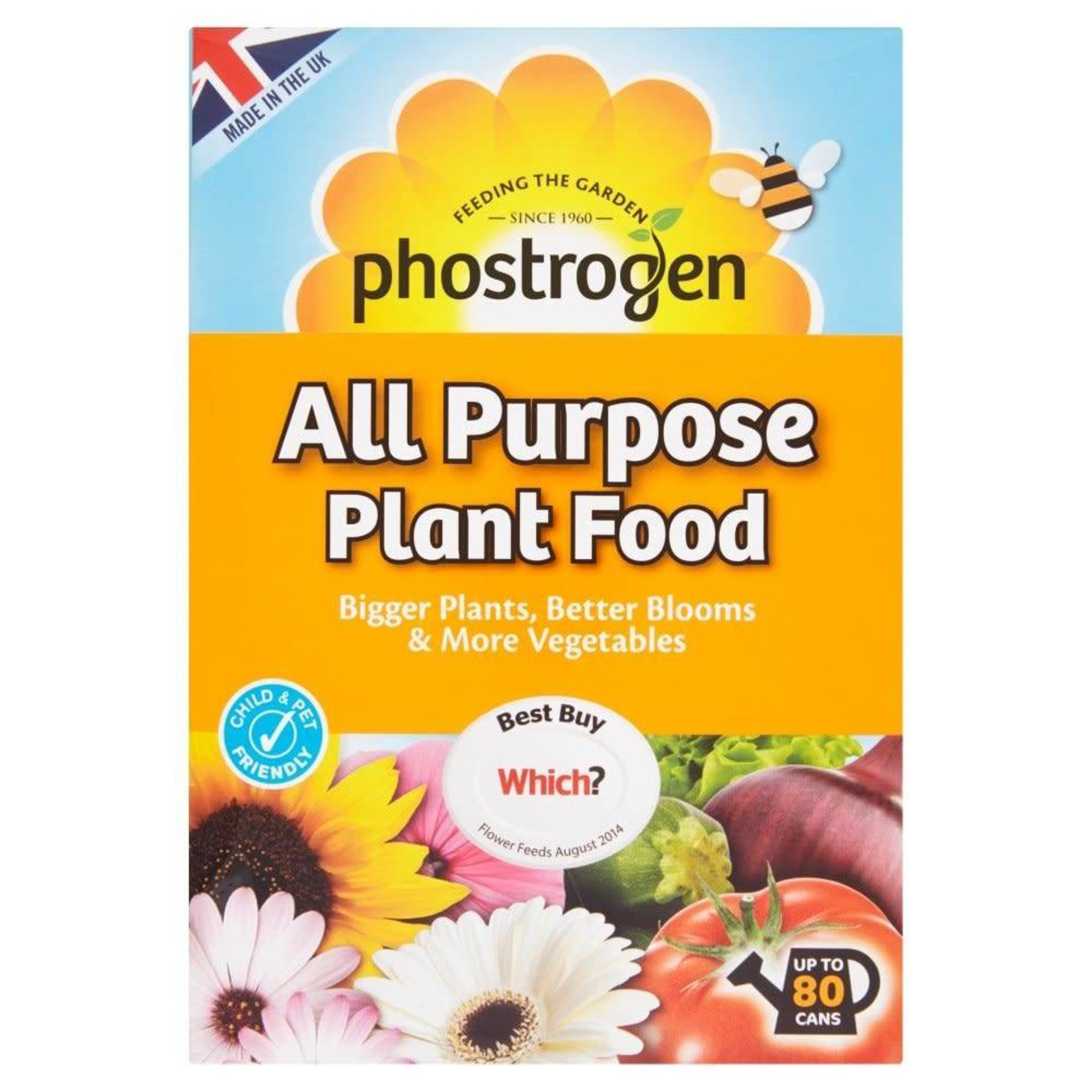 Bayer Garden PHOSTROGEN ALL PURPOSE PLANT FOOD UP TO 80 CANS