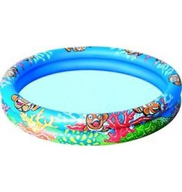SPLASH AND PLAY INFALTABLE PADDLING POOL OCEAN DESIGN 122*20CM