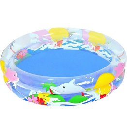 SPLASH AND PLAY INFALTABLE PADDLING POOL OCEAN DESIGN 91*20CM