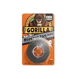 Gorilla GORILLA MOUNTING TAPE 1.5M BLACK (DELIST)