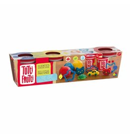TUTTI FRUITI ASSORTED SCENTED PLAY-DOH 3PK WITH MOULDS