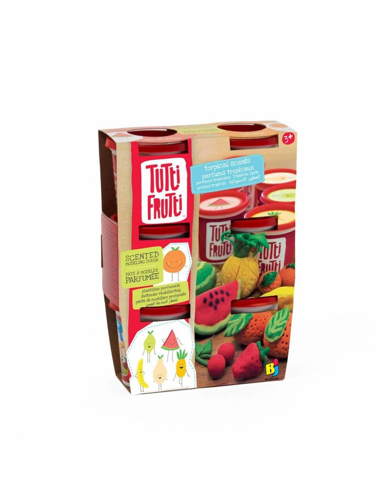 TUTTI FRUITI ASSORTED SCENTED PLAY-DOH 6PK