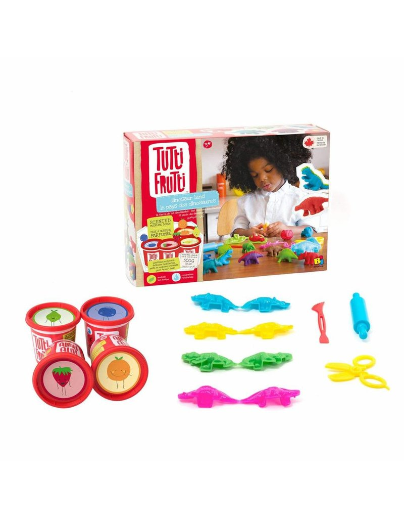 TUTTI FRUITI SCENTED PLAY-DOH MODEL SET - DINOSAUR LAND