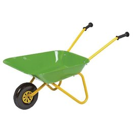 Rolly ROLLY METAL WHEELBARROW - GREEN & YELLOW