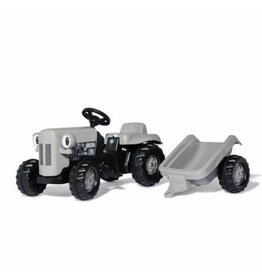 Rolly ROLLY LITTLE GREY FERGIE RIDE ON TRACTOR WITH TRAILER AGES 2.5-5