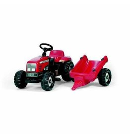 Rolly ROLLY MASSEY FERGUSON RIDE ON TRACTOR WITH TRAILER AGES  2.5-5
