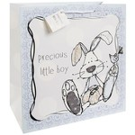 Lesser & Pavey Little Miracles Gift Bag Blue Large