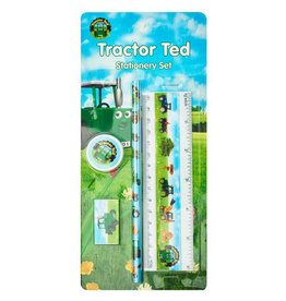 TRACTOR TED STATIONERY SET (4-PIECE SET)