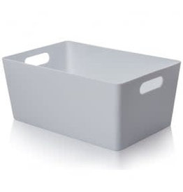 Wham WHAM STUDIO BASKET 25.5x17CM DUCK EGG BLUE STORAGE BOX