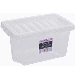 Wham CRYSTAL 6.5L BOX & LID CLEAR