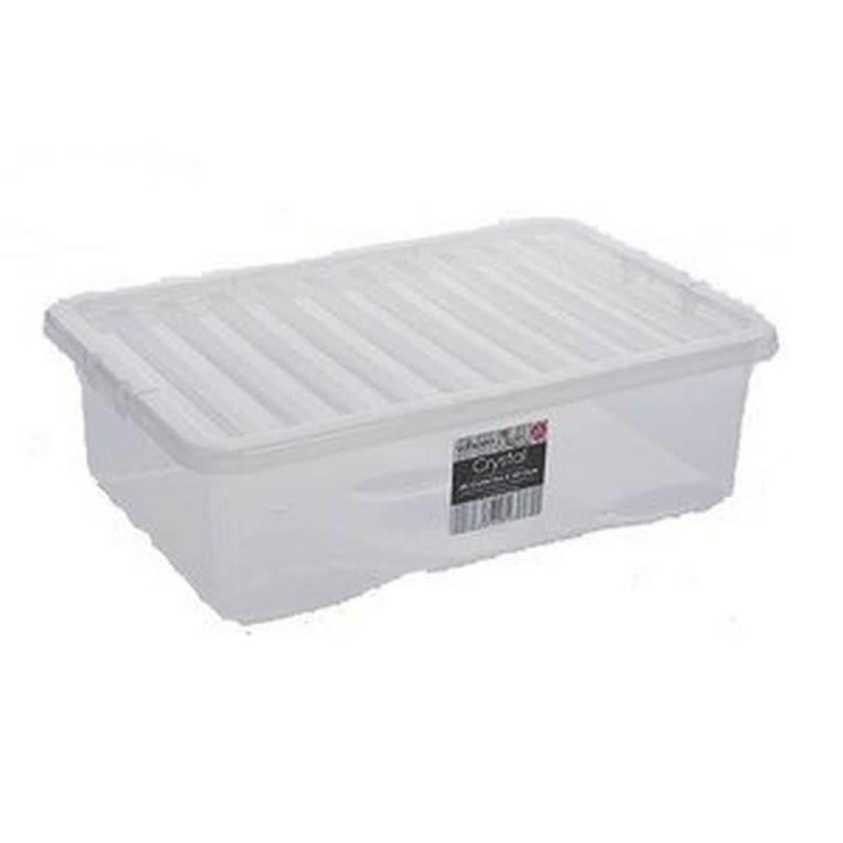 Wham CRYSTAL 32L BOX & LID CLEAR