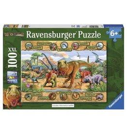 Ravensburger Dinosaurs 100 XXL pc Puzzle