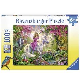 Ravensburger Magical Ride Unicorn Fairy 100 XXL pc Puzzle