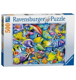 Ravensburger Tropical Traffic Fish 500 pc Puzzle