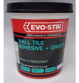 EVO-STIK WALL TILE ADHESIVE PLUS GROUT MOULD RESISTANT 1L