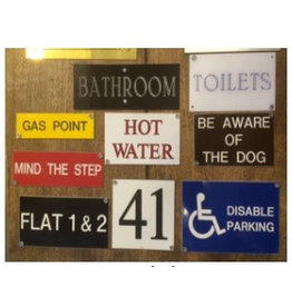 Engraved Signs Made to Order