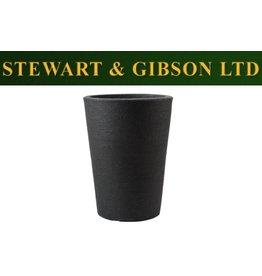 Stewart Garden STEWARTS 35CM VARESE MED PLANTER GRANITE