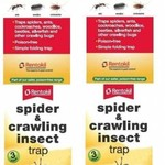 Rentokil Rentokil FS58 Spider and Crawling Insect Trap Pack of 3