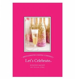 BRIDGEWATER LET'S CELEBRATE SCENTED ENVELOPE SACHET
