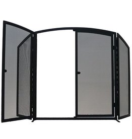 MANOR GATEWAY 3 FOLD - BLACK - 76 X 69 + 26 WINGS