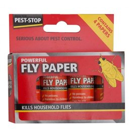 Pest Stop PEST STOP FLY PAPERS (PACK OF 4)