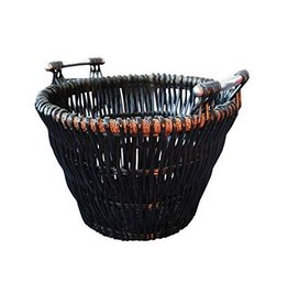 INGLENOOK FIRE400 BLACK LOG BASKET
