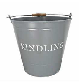 MANOR KINDLING BUCKET - GREY - 0346