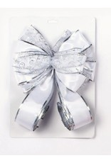 1.2M Tree Top Bow Silver & White Mix