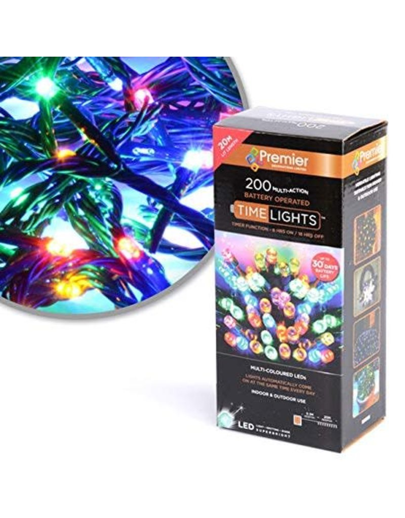 Premier 200 M-A B-O Multi-colour LED With Timer