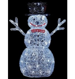 76cm Snowman w-88 White LEDs