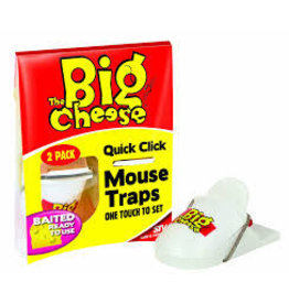 STV The Big Cheese Quick Click Mouse Traps 2 Pack