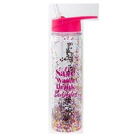 Gym Glitter Water Bottle Bubbles