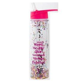 Gym Glitter Water Bottle Gin