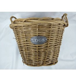INGLENOOK HEAVY DUTY LINED LOG BASKET