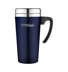 Thermos THERMOS TRANSLUCENT TRAVEL MUG 420ML BLUE