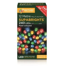 PREMIER 240 LED M-A INDOOR-O-D SUPA BRIGHTS MULTI-COL