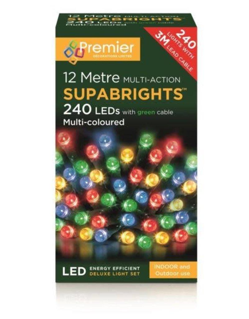 PREMIER 240 LED M-A INDOOR-O-D SUPA BRIGHTS MULTI-COL