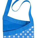ELLIOTS PEG BAG WITH SHOULDER STRAP - POLKADOTS