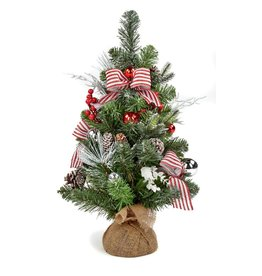 60cm Stripe Bow Tree