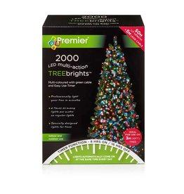 Premier 2000 M-A Led TreeBrights Timer Multi colour