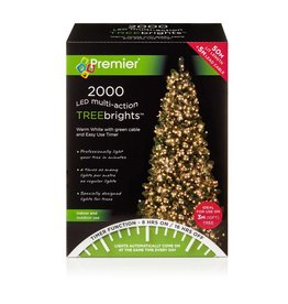 Premier 2000 M-A Led TreeBrights Timer Warm White