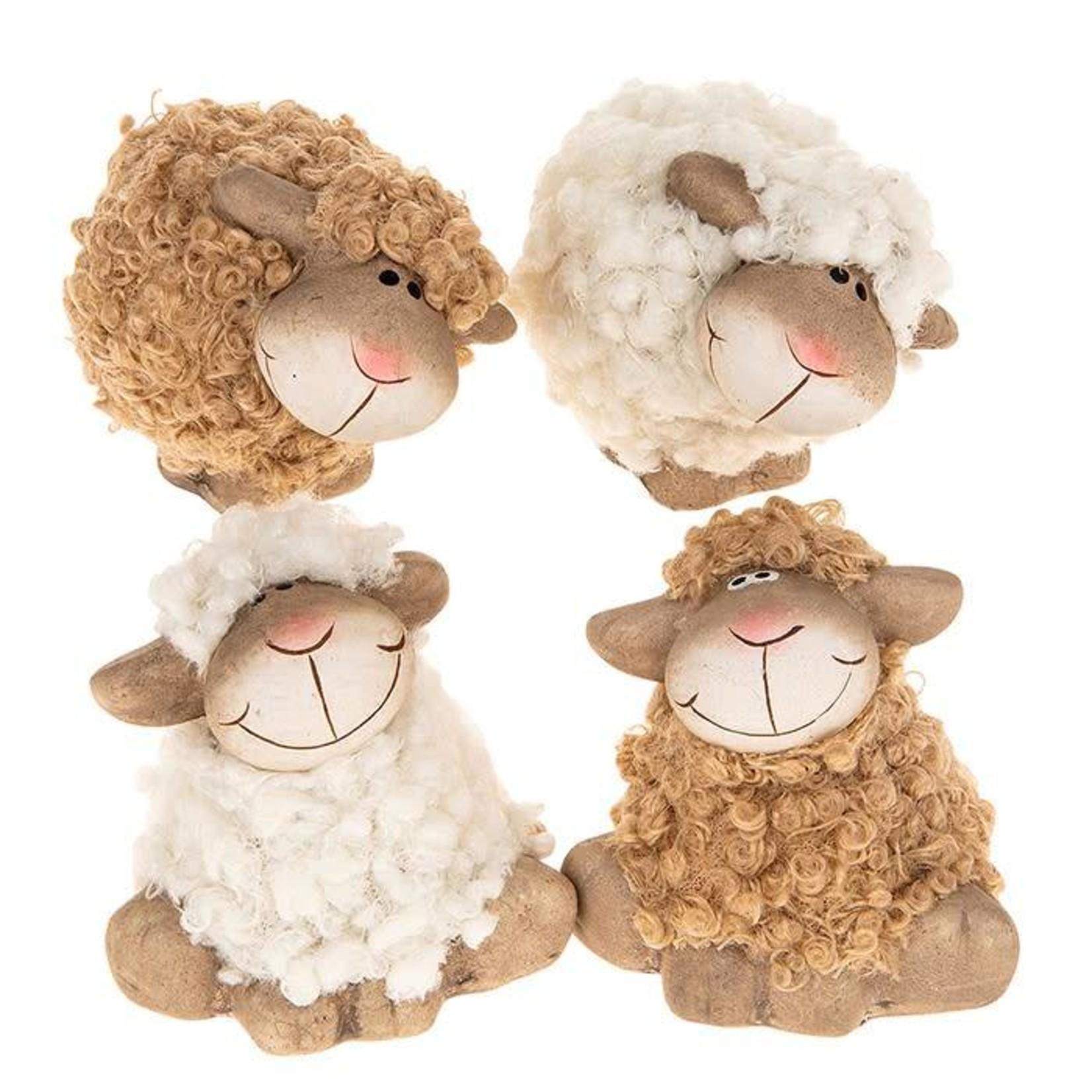 Fluffy Sheep Posing Mini Assorted