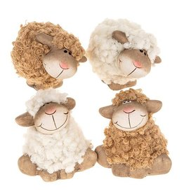 Fluffy Sheep Posing Mini Assorted