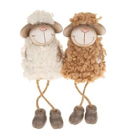 Fluffy Sheep with Dangley Legs Small Assorted